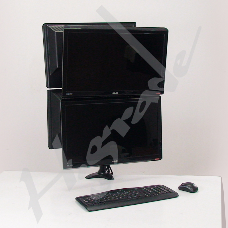 Quad LCD Monitor Stand