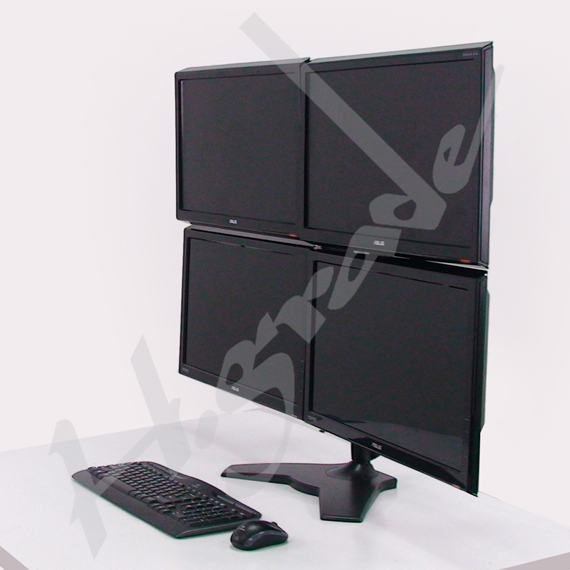 Multi Mounts - 4 LCD Monitor Stand